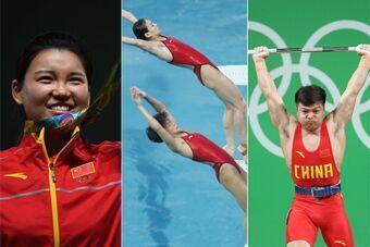中国奥运军团三金回顾