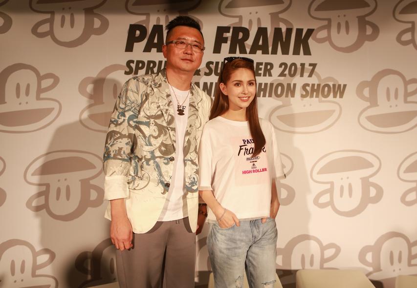 代言人昆凌领军Paul Frank(大嘴猴)2017春夏时装秀