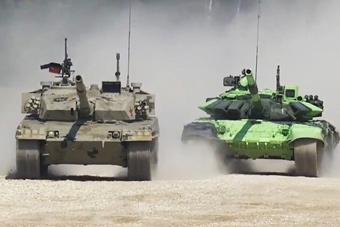 两分钟看完中国96B坦克辉煌初战