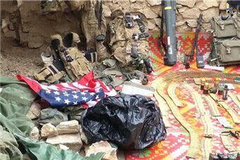 恐怖组织IS展示缴获美军大量武器装备