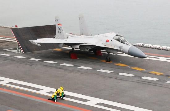 中国舰载机力量成长实录(四):歼-15震撼起飞