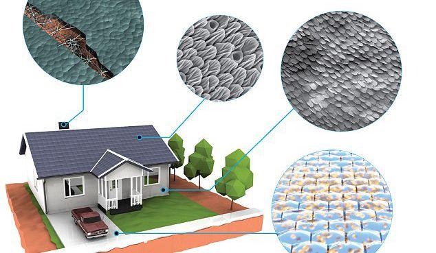 生物系统结合传统建材 未来房屋或可自我修复