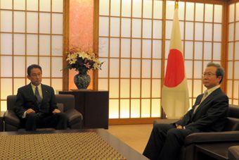 中国大使反驳日外相:钓鱼岛是中国的!