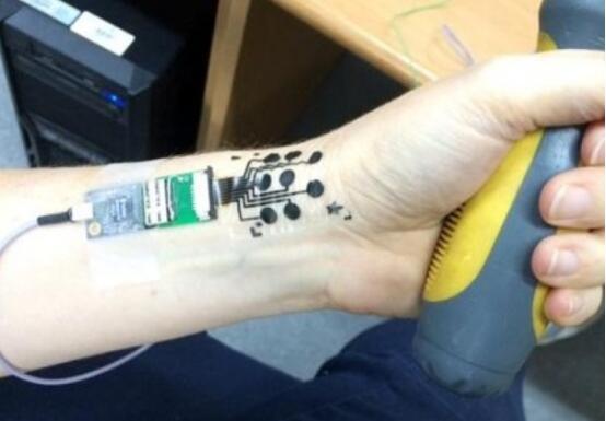 以色列大学研发电子纹身 可准确侦测人类情绪