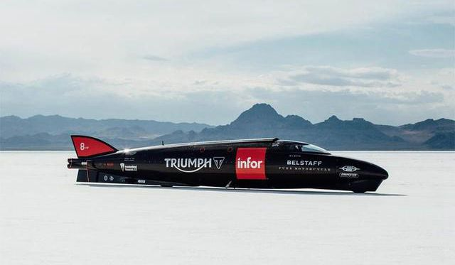 世界上最快摩托车:外形像火箭 时速高达644km/h