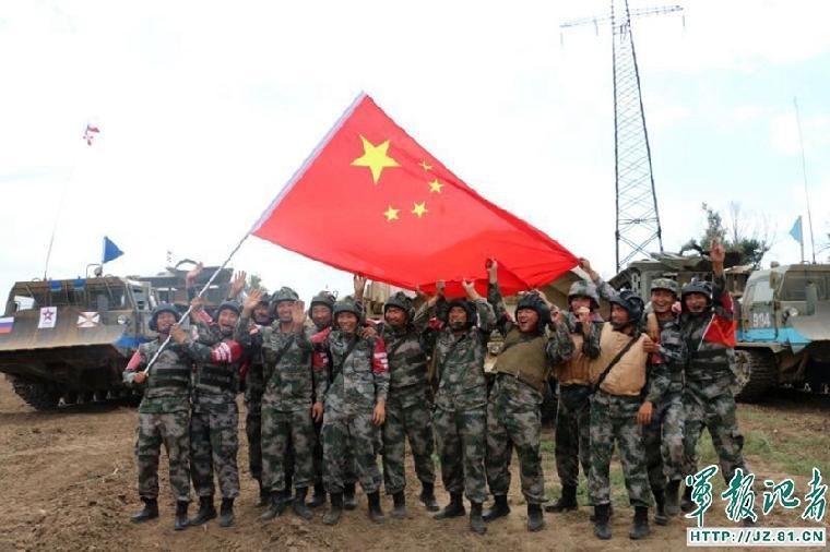 解放军在国际军事比赛中已获1冠军10亚军2季军