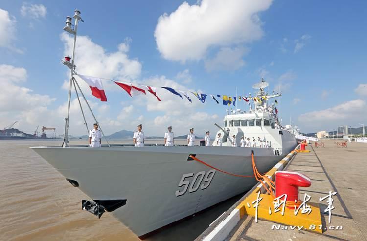 新型导弹护卫舰淮安舰加入东海舰队战斗序列(图)