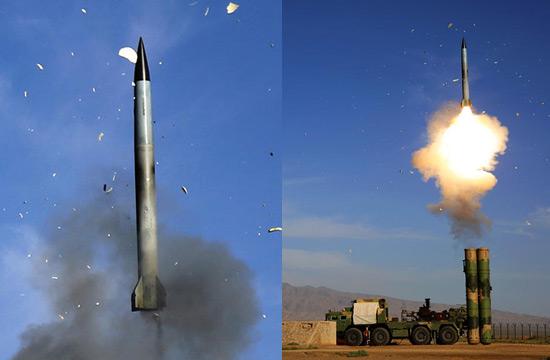 中部战区防空导弹挺进戈壁亮剑