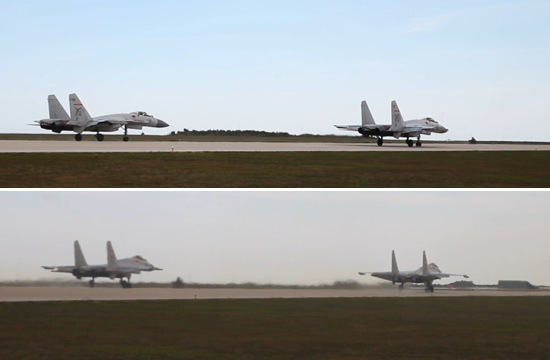中国舰载机力量成长实录(六):四机连续起飞