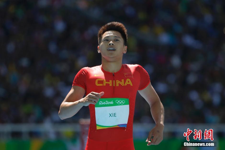 谢震业小组头名闯进男子百米半决赛