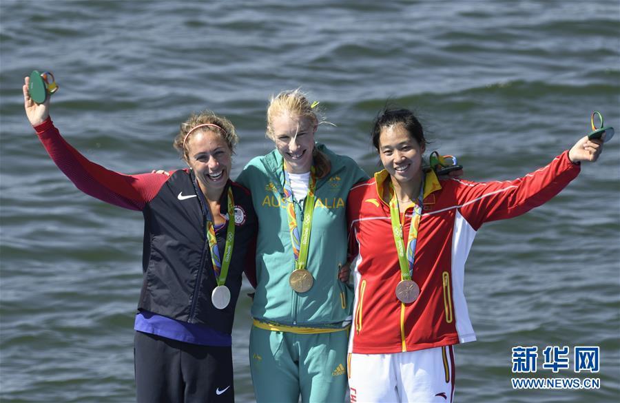 段静莉力拼铜牌夺女子单人双桨中国奥运首块奖牌