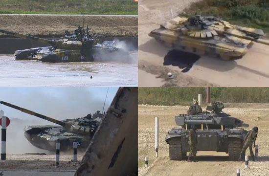 坦克大赛外军失误瞬间都在这