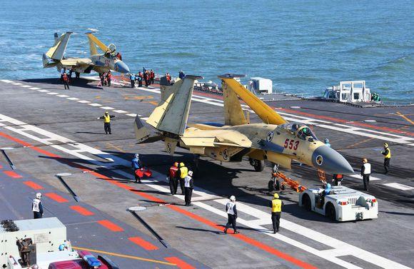中国舰载机力量成长实录