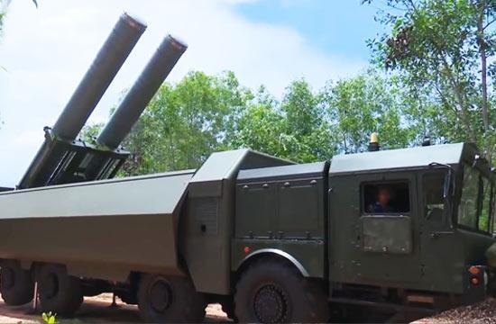 越南展示堡垒P最强岸防导弹