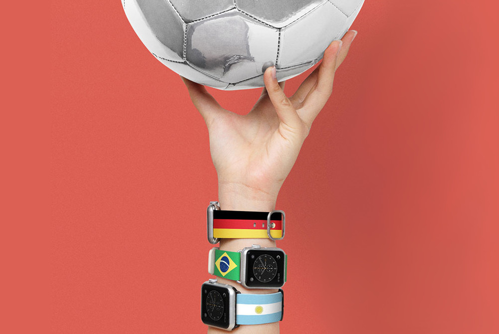 体育热潮延伸 苹果推出奥运主题iWatch手表带