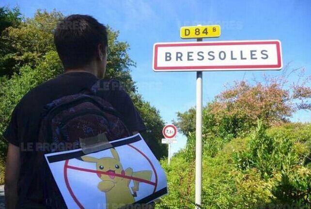 法国小城不欢迎Pokemon GO 禁止放置口袋怪兽