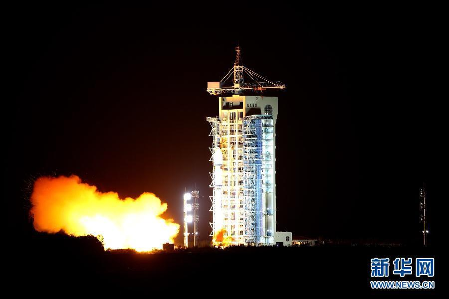 """中国成功发射全球首颗量子卫星""""墨子号"""""""