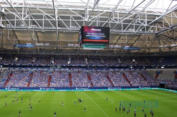 """""""海信造""""欧洲最大球场电视:沙尔克04球迷有福了"""