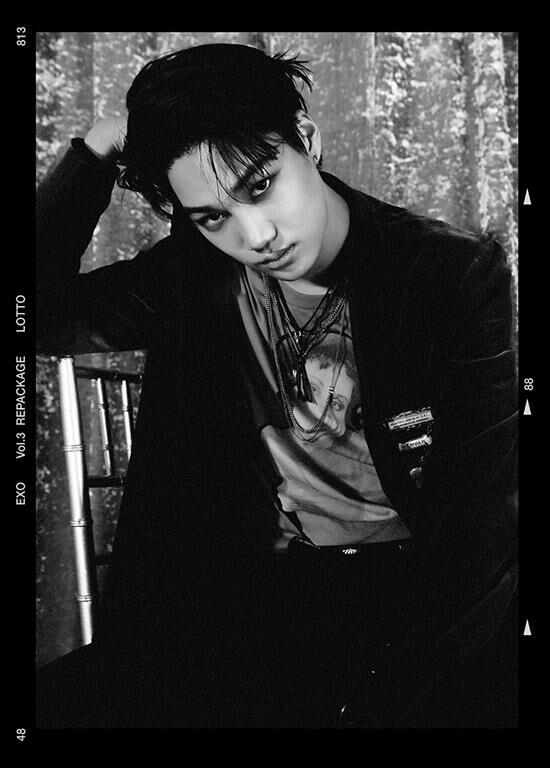 EXO成员KAI缺席专辑《LOTTO》宣传 全力养脚伤
