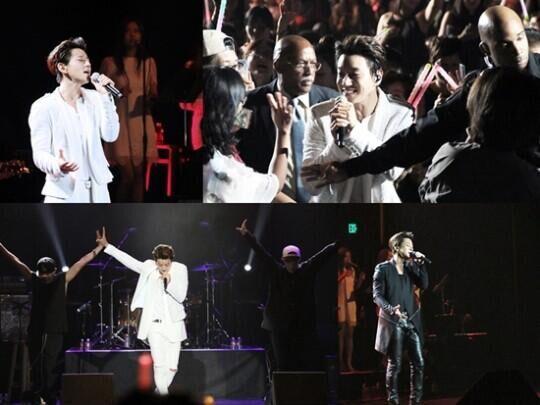 韩歌手黄致列首次在美开个唱 三千余粉丝捧场