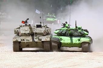 2016国际军事竞赛精彩画面回顾