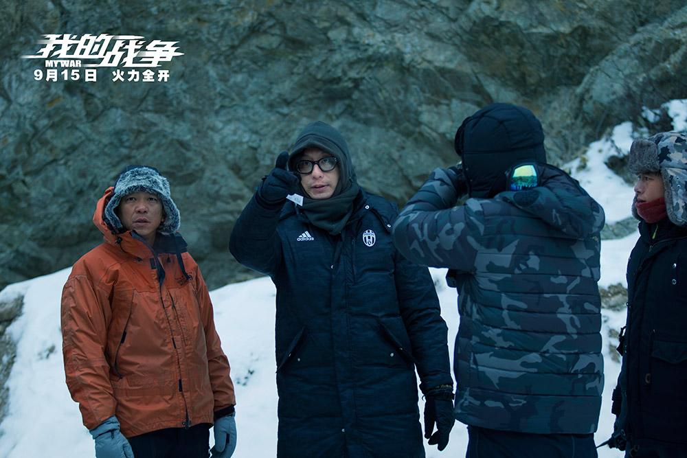 《我的战争》发布极寒特辑 刘烨被冻到麻木