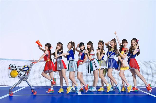 SING女团运动写真 新歌《加油加油》为奥运助威
