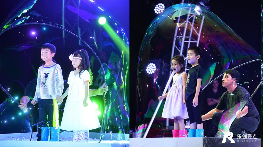 《哇!泡泡》百老汇奇幻舞台视觉秀2016强势回归