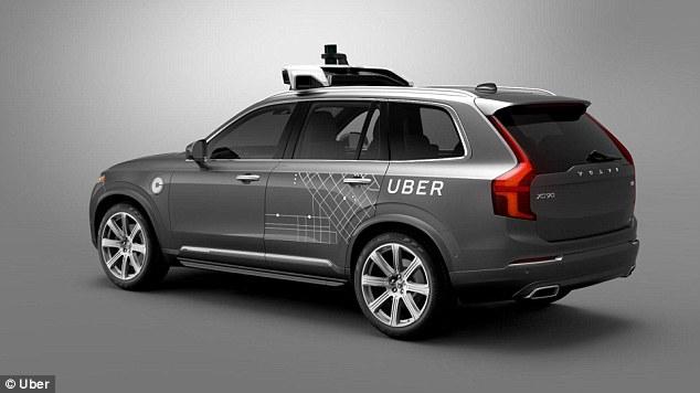 优步联手沃尔沃 在美首试无人驾驶汽车