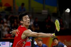 再入一金!里约奥运会羽毛球男单决赛谌龙夺冠
