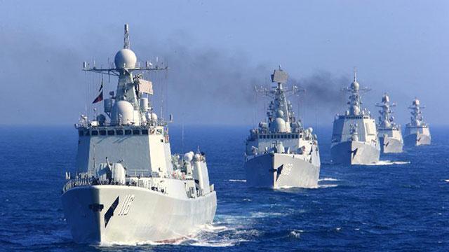 中国为日插手南海划底线 不排除军事对抗