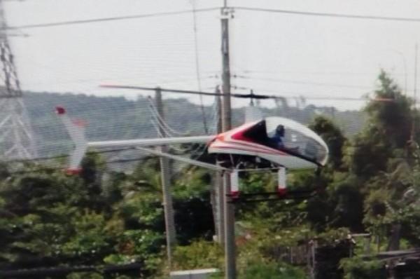 不明机体起降蔡英文将视察基地周边 台军扯大陆