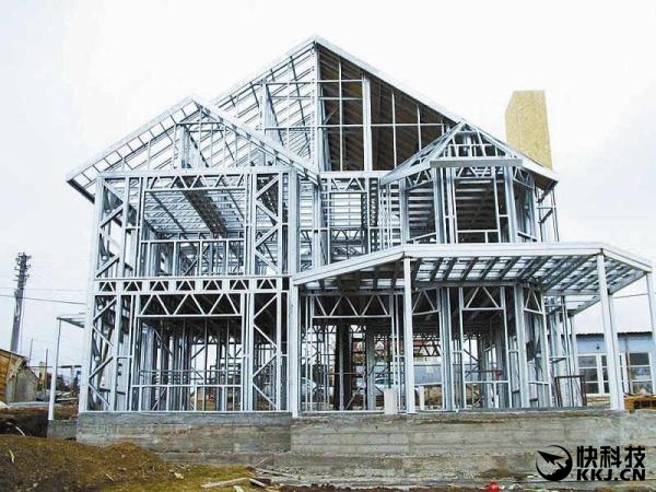 中国建筑逆袭!建房子就是搭积木:全使用钢结构