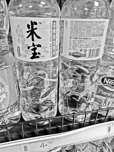 瓶装水换新装提颜值 打概念牌搞营销战