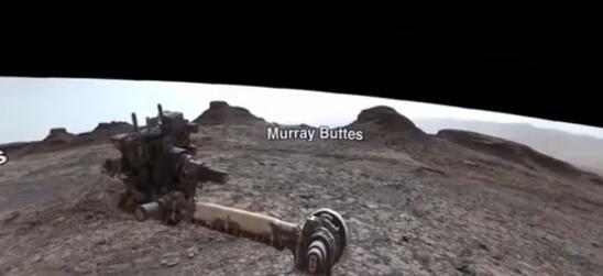 火星360度全景图