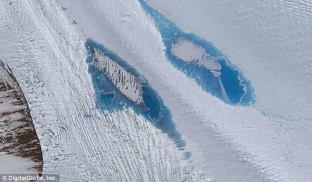 南极洲现8000个湖泊 预示南极冰原消融更快