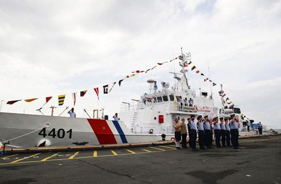 日本送菲律宾海警船抵达马尼拉