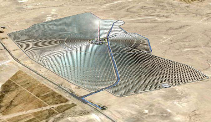 以色列建全球最高太阳能供电塔 预计2017年落成