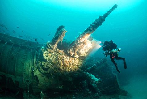 被遗忘的历史:爱尔兰海域现战船残骸