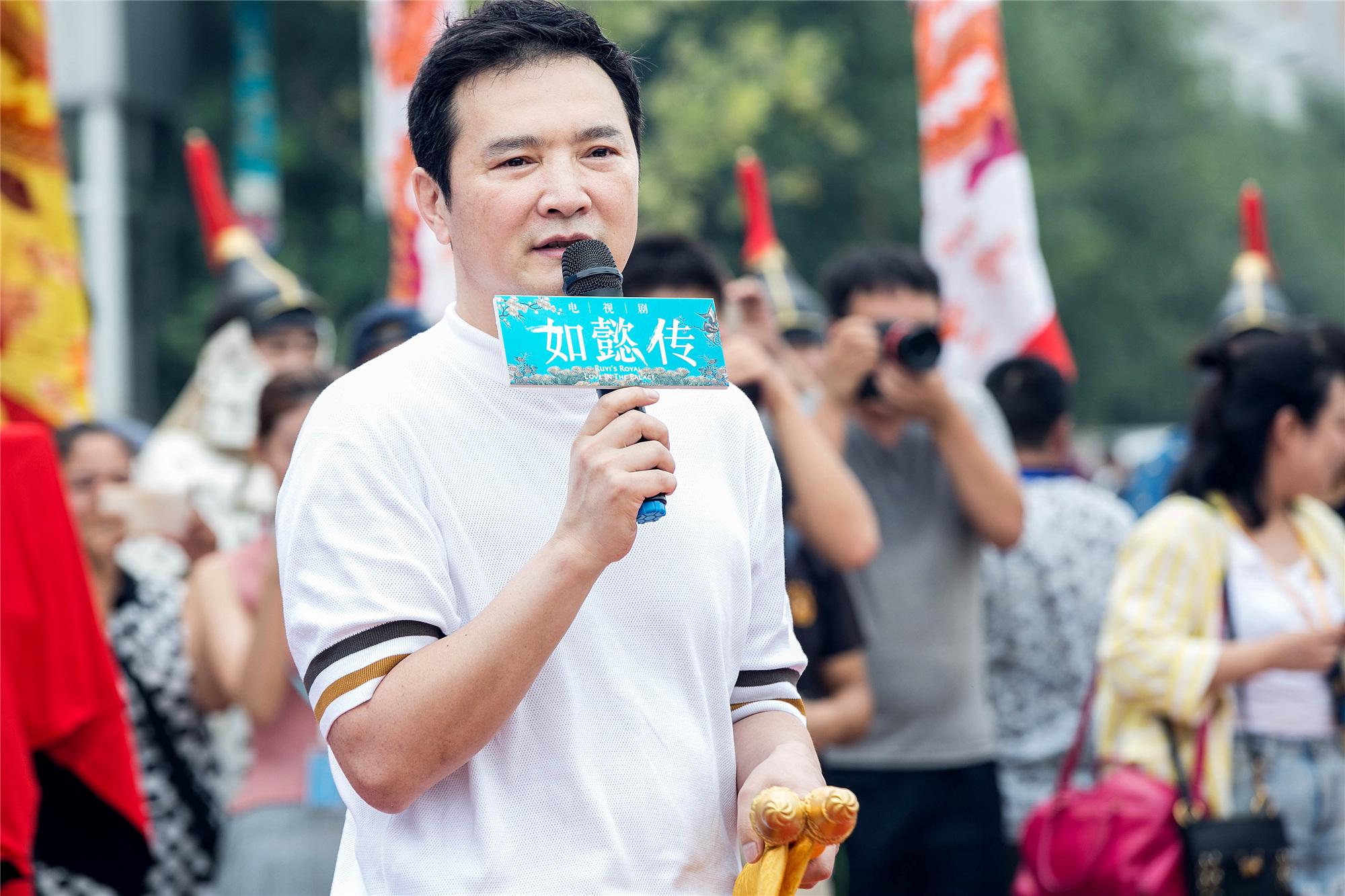 """《如懿传》开机 霍建华""""捧脸杀""""周迅放糖"""