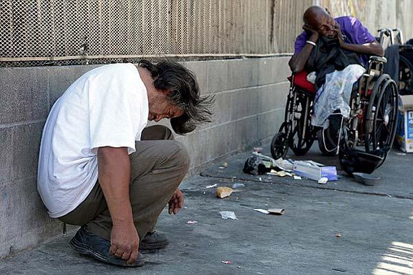 洛杉矶贫民窟合成大麻吸食成风 仅一周入院32人