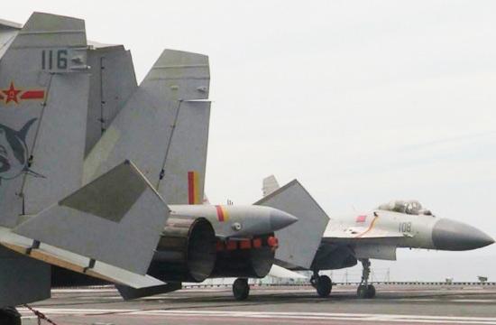 歼15舰载机编号已排至116号