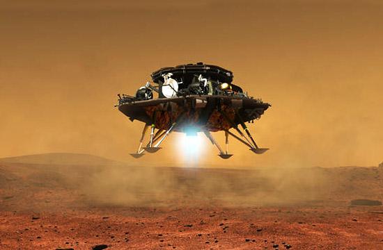 看看中国第一台火星车长啥样