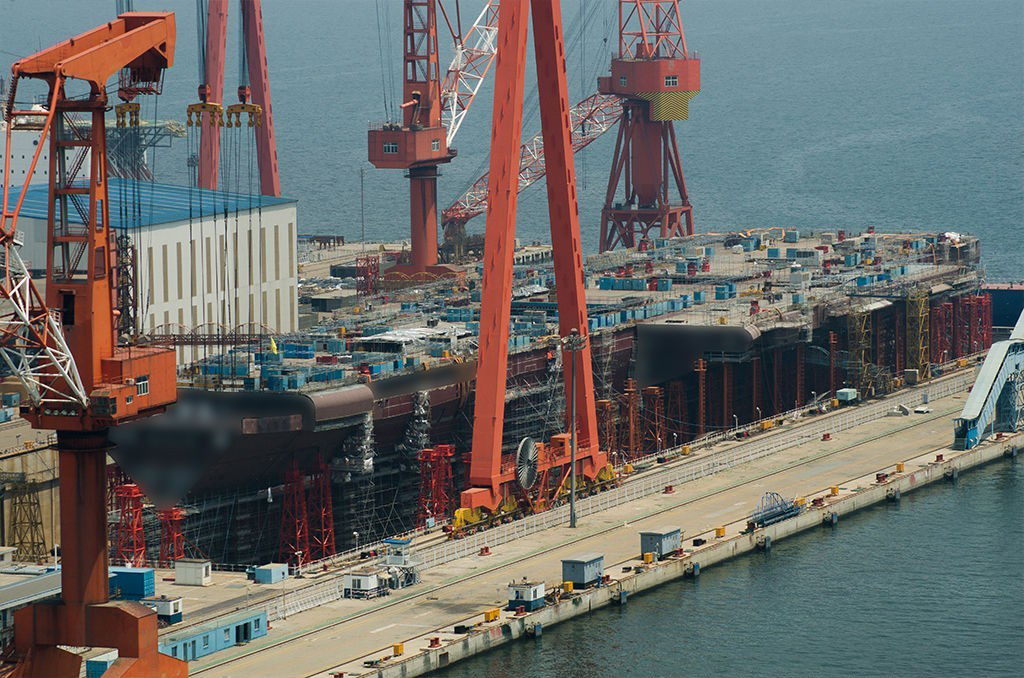 中国大力发展航母战斗群 加造神盾舰