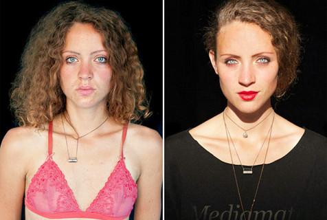 摄影师早晚记录人面部肖像展细微变化