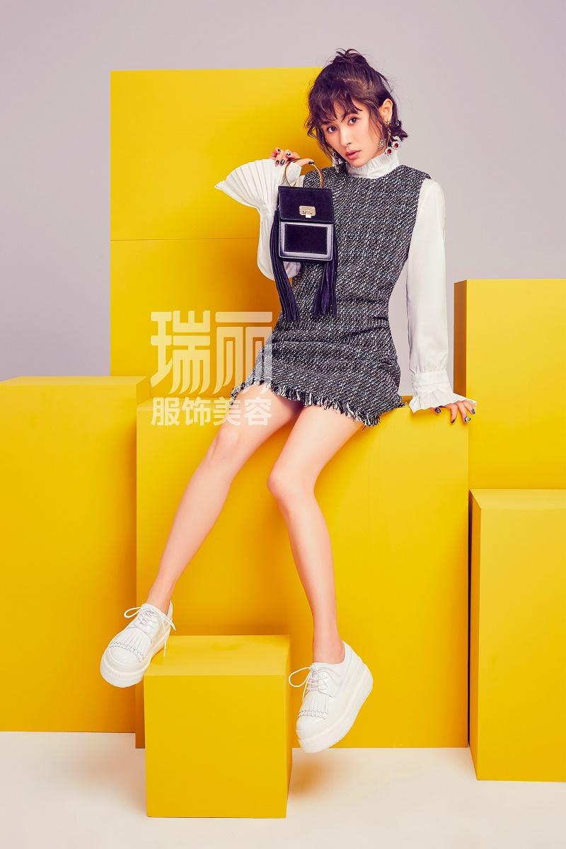 王子文最新杂志大片 打造最潮早秋LOOK