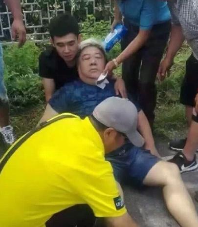 刘金山被曝已苏醒不至于坐轮椅 家人:差点没了