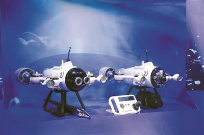 美军打造水下无人机