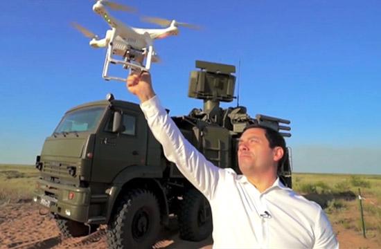 俄军铠甲S1打不中中国无人机?