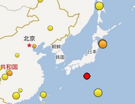 日本海域连续发生地震